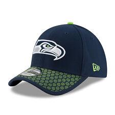 New Era 39 Thirty NFL Seattle Seahawks en campo 2017 Elástico Gorra de Ajuste Elástico