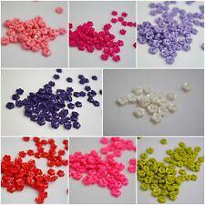 Lb6018-7mm 20pcs Little Baby Micro piccolo a forma di fiore ITALIANO PLASTICA PULSANTE