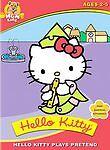Hello Kitty Plays Pretend (DVD, 2004) NEW Sealed