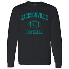 Jacksonville Classic Football Arch Unisex Long Sleeve T-Shirt