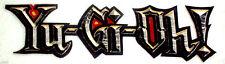 "3""-6.5"" Yu-gi-oh anime logo banner heat transfer iron on character"