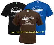 Rentner T-Shirt   Oldtimer von bis ?   Jahreszahl wählbar   Geburtstag 10-052