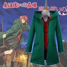 Mahoutsukai no Yome Chise Hatori Jacket Green Coat Cosplay Costume Outwear Warm