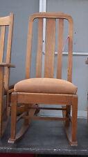 Quartersawn Oak Mission Sewing Rocker  / Rocking Chair  (R33)