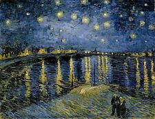 Vincent van Gogh - Starry Night Painitng Canvas Print wall home Decor