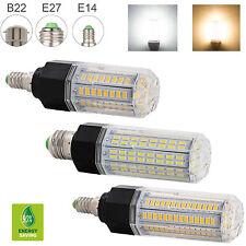 AU 21W -38W Dimmable E27 E14 B22 LED Corn Light Bulbs 5730 SMD High Power Lamps