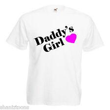 Daddy'S GIRL PRINCESS Adulti Da Uomo T Shirt 12 Colori Taglia S - 3XL