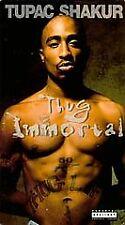 "Tupac Shakur ""Thug Immortal"" {eXplicit} Rap, Hip Hop. Brand New Factory VHS /VCR"