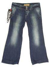 Jeans large Vintage pattes d'eph bootcut femme FREEMAN SLAY LIGHT taille W 32