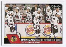 16/17 O-PEE-CHEE TEAM CHECKLISTS Hockey (#616-645) U-Pick from List