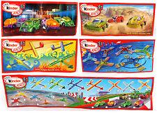 Überraschungsei Figuren Kinder Race 2010 Auswahl BPZ ZBA UeEi Spielzeug