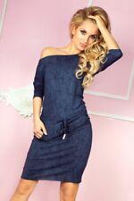 Numoco Sportliches Trendiges Kleid Jeans dunkel blau 13-19