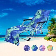 Beach Towels Portable Beach Pool Sun Lounge Chair Cover Bath Towel