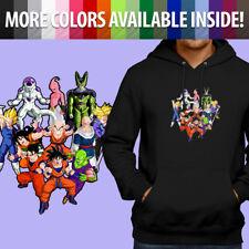 Dragon Ball Z Group Goku Krillin Vegeta Buu Pullover Sweatshirt Hoodie Sweater