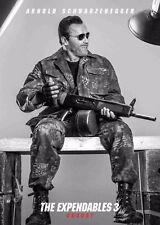 Los Indestructibles 3 la película Poster-Arnold Schwarzenegger-opción 6-A4 y A3