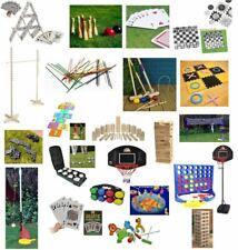 GARDEN GAMES OUTDOOR FUN SUMMER KIDS FAMILY GAMES SPORTS JENGA LIMBO ETC NEW