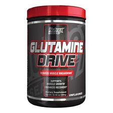 Nutrex GLUTAMINA Negro 300g soportes Crecimiento Muscular Mejora Recuperación