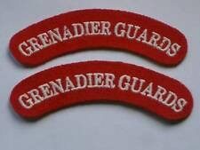 Schultertitel: GRENADIER GUARDS, Palastwache,Garde,Paar