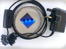 PLUG IN - BRIGHT BLUE LED FLEXIBLE STRIP LIGHTING KIT