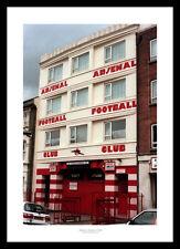 Highbury Stadium West Stand Entrance Arsenal FC Photo Memorabilia (493)