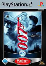 James bond 007: todo o nada Platinum ps2 PlayStation 2