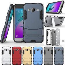 For Samsung Galaxy J3 -Hybrid Shockproof Hard Armor Rugged KickStand Case Cover