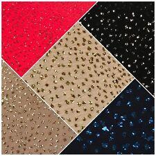 "Glitter Crinkle Jersey Lycra Stretch Spangle Fukuro Fabric 54"" Wide MQ832 Mtex"