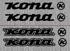 Kona Bike Decals Sticker Kit Set MTB DH Downhill Fox