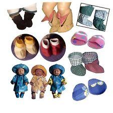 Schuhe Baby Puppen Schnittmuster 43cm (2,00 €/Stk)