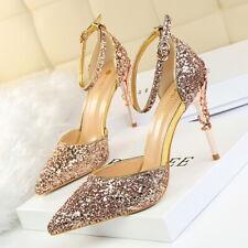 Sexy High Heels Shoes Wedding Women Pumps Heels OL Dress Shoes Sandals GWS178