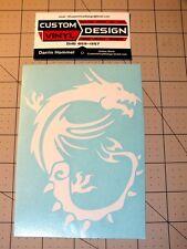 "6"" MSI Dragon Vinyl Decal Sticker Computer Case Laptop Truck Car Window"
