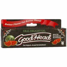 GOOD HEAD ORAL DELIGHT ORAL SEX  PLAY FLAVORED ENHANCER GEL 4 oz - Choose Flavor