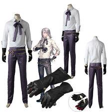 Original NieR: Automata Adam Cosplay Costume Full Suit with Gloves Custom Made: