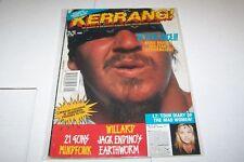 #401 KERRANG! music magazine MIKE MUIR - EARTHWORM