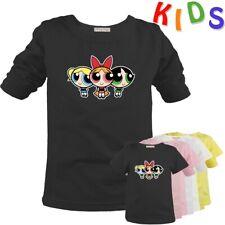 Cute Powerpuff Girls Graphic Kids Gift Boy Girl Long Short Sleeve T-Shirt Tops