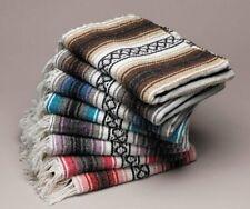 Genuine Falsa Mexican Blanket Hand Woven Serape Throw Yoga Wholesale Bulk Packs