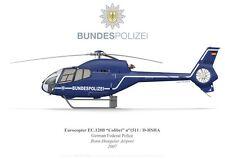 Print EC.120 Colibri, Bundespolizei (German Federal Police) (by G. Marie)