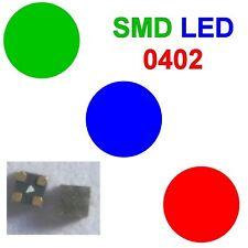 SMD LED 0402 RGB Rot/Grün/Blau Farben einzeln Steuerbar gemeinsame Anode C4000