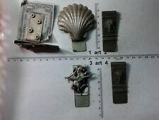 Porta Soldi ferma Clip Fermasoldi portafogli banconote in metallo, money clips