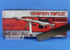 1:6 M107A1 Figure US Desert Champagne M107-A1 Sniper Rifle Gun Model G_8028C