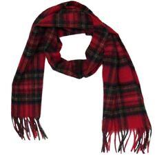 Châle en laine - tartan écossais - 15 couleurs disponibles - 152,5 x 30,5 cm