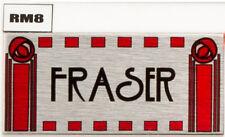Sign Rennie mackintosh Door Nameplate Personalised plaque