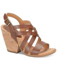 BNIB Kork-Ease by Korks Nedra Brown Tan Black Sandals Womens Shoe 6 7 8 9 10 11