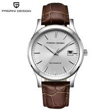 PAGANI DESIGN Men Auto Mechanical Pilot Watches Luxury Brand Leather Band Reloj