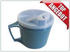 Thermo-Trinkbecher Tasse Schnabeltasse mit Griff und abnehmbaren Trinkaufsatz