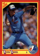 1990 Score Baseball Card #s 251-500 +Rookies -You Pick - Buy 10+ cards FREE SHIP