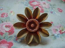 Vintage Metal / Floral Push Pin~Bulletin Board/Craft Room/Kitchen/Office