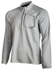 Klim Teton Merino Wool Zip Gray