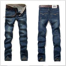 Mens Stylish Fashion Designer Casual Slim Fit Denim Jeans Pants 0421
