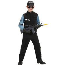 SWAT Déguisement Pour Enfant Costume de policière forces spéciales garçon Agent